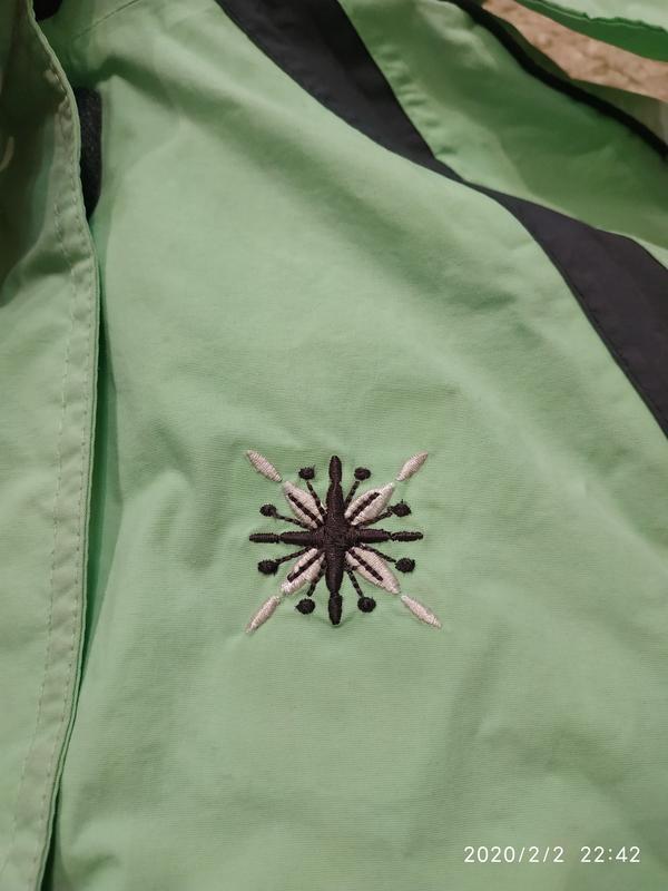 Брендовая спортивная (лыжная) термо- куртка на 5-6 лет (можно ... - Фото 9