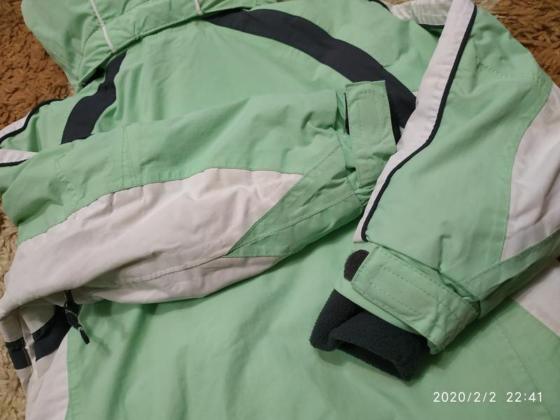 Брендовая спортивная (лыжная) термо- куртка на 5-6 лет (можно ... - Фото 10