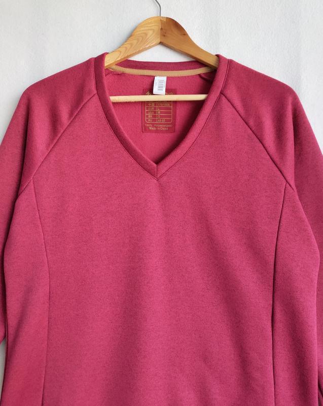Пуловер свитшот реглан на флисе quechua - Фото 7