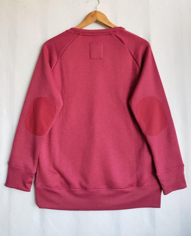 Пуловер свитшот реглан на флисе quechua - Фото 8