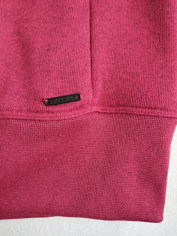 Пуловер свитшот реглан на флисе quechua - Фото 9