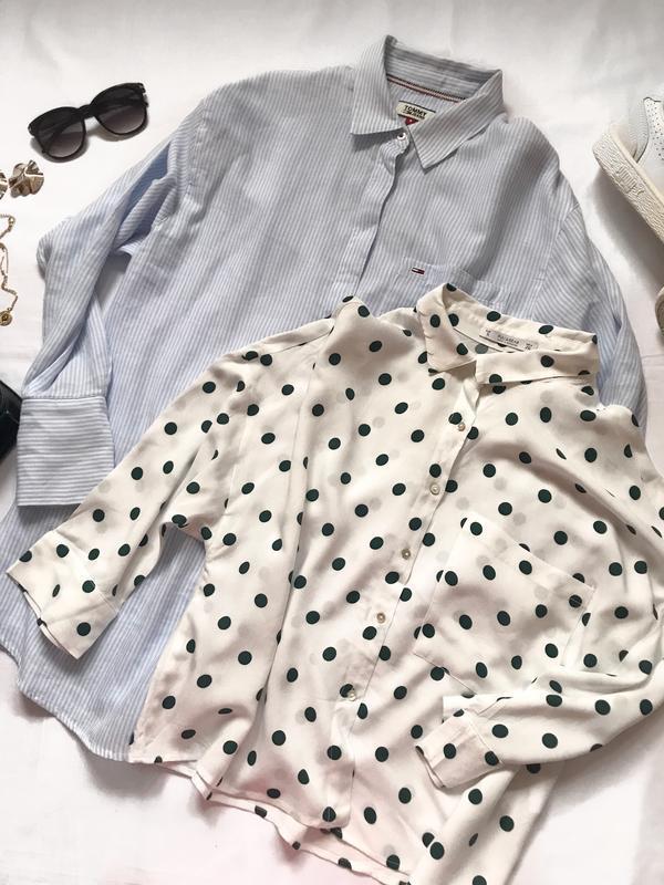 Крутая рубашка tommy  р. s - Фото 2