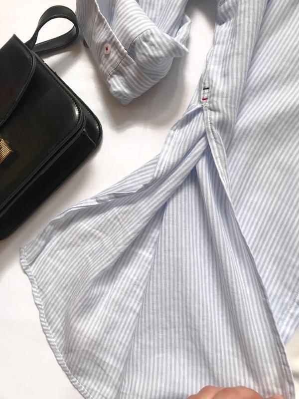 Крутая рубашка tommy  р. s - Фото 5