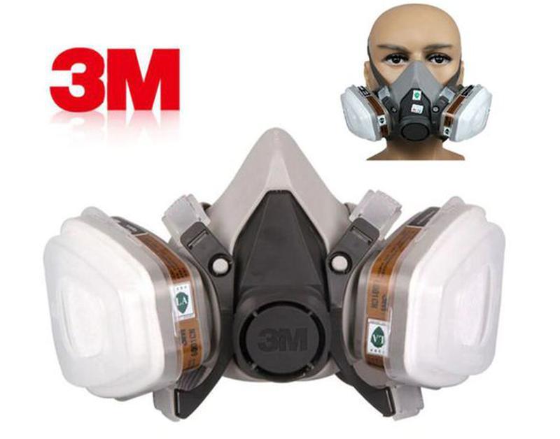 Распиратор с угольными и пылевыми фильтрами 3М \ 3 М \ защитна... - Фото 3
