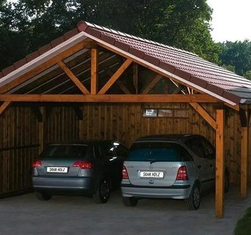 Навесы деревянные для авто.Стоительство под ключ Одесса. - Фото 4