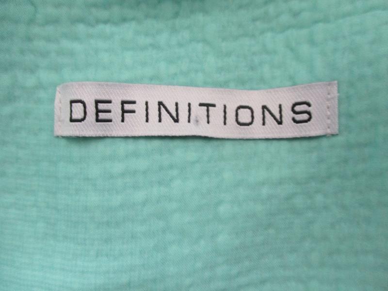 Нежный мятный удлиненный жакет-пальто definitions - Фото 9