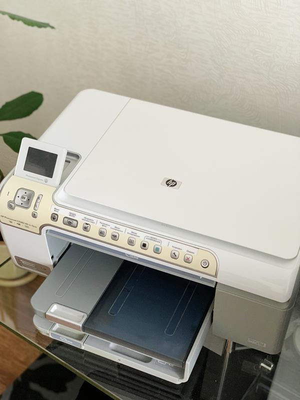 МФУ HP Photosmart C5200, принтер, сканер, ксерокс, фото печать