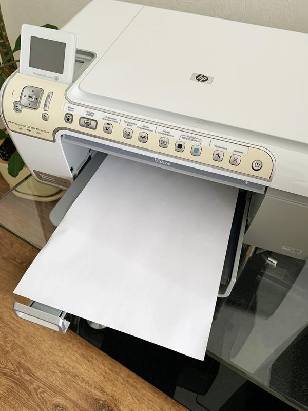 МФУ HP Photosmart C5200, принтер, сканер, ксерокс, фото печать - Фото 4