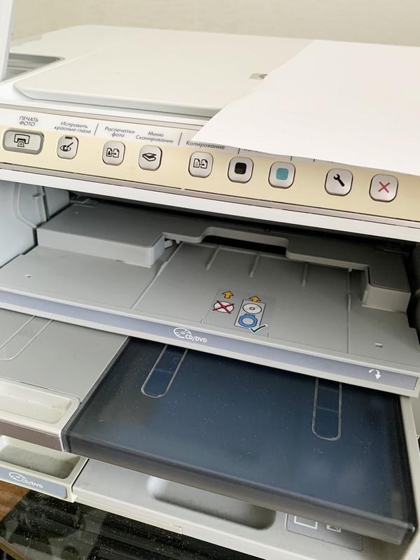 МФУ HP Photosmart C5200, принтер, сканер, ксерокс, фото печать - Фото 10