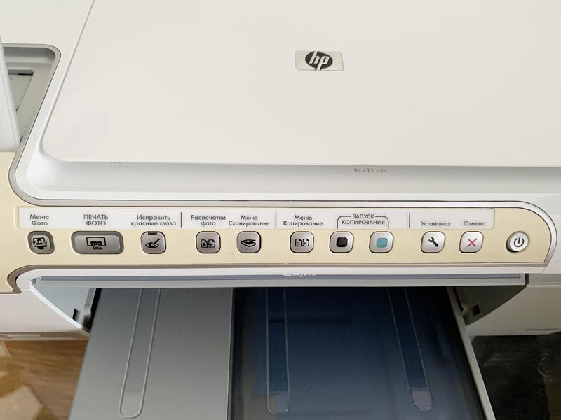 МФУ HP Photosmart C5200, принтер, сканер, ксерокс, фото печать - Фото 3