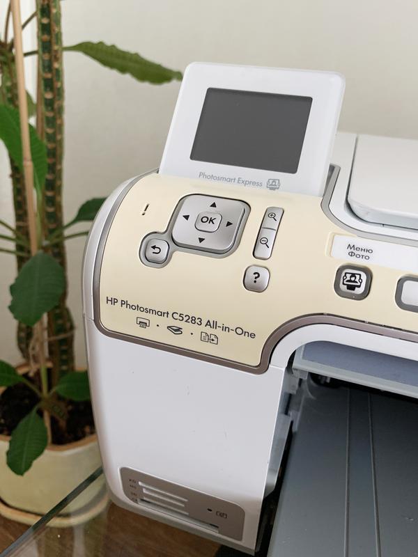 МФУ HP Photosmart C5200, принтер, сканер, ксерокс, фото печать - Фото 5