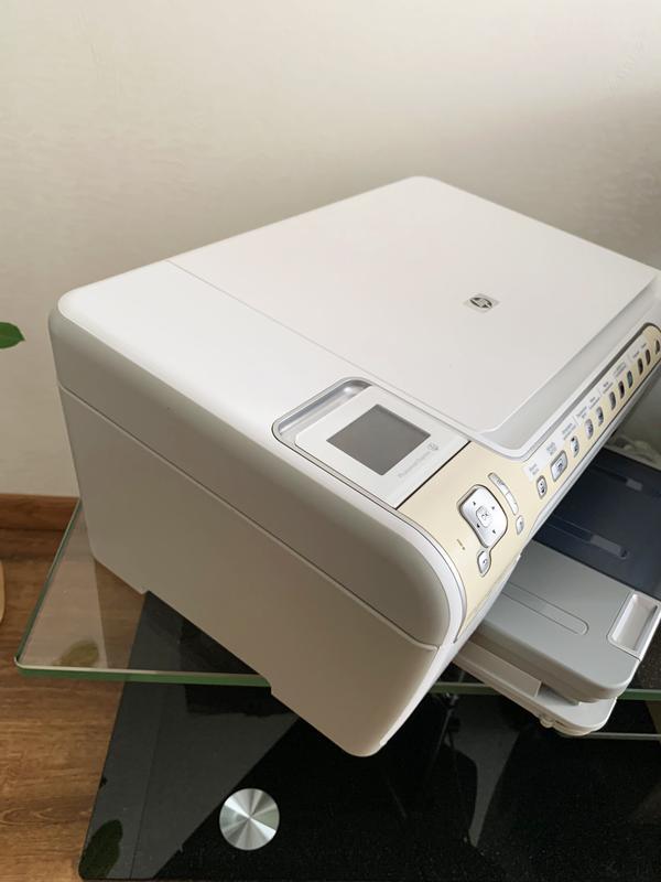 МФУ HP Photosmart C5200, принтер, сканер, ксерокс, фото печать - Фото 2