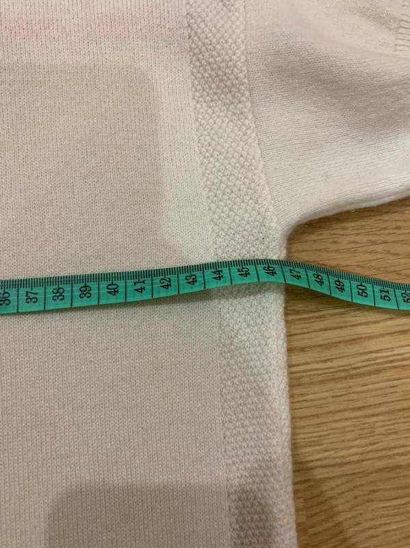 Кашемировый свитер с коротким рукавом - Фото 8