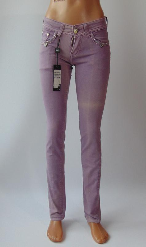 Фиолетовые штаны от ake италия 40 р.