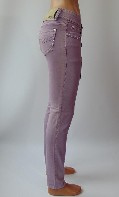 Фиолетовые штаны от ake италия 40 р. - Фото 3
