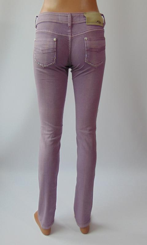 Фиолетовые штаны от ake италия 40 р. - Фото 4