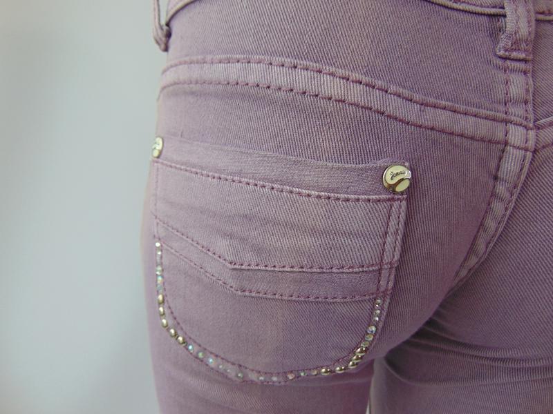 Фиолетовые штаны от ake италия 40 р. - Фото 5