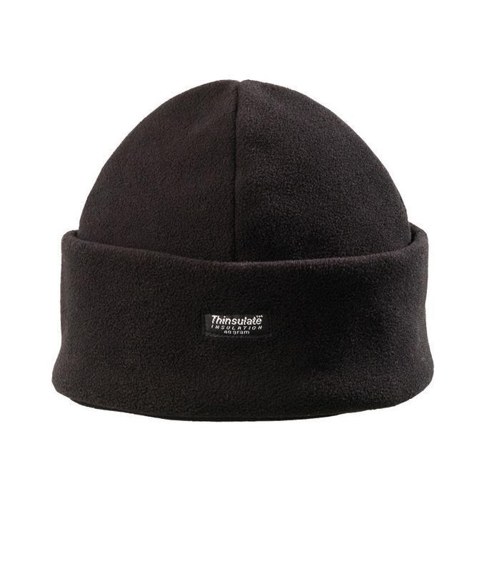 Флисовая двухслойная шапка thinsulate | insulation 40 gram
