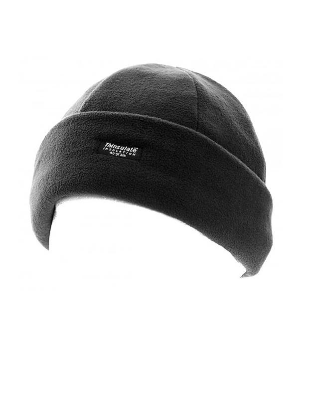 Флисовая двухслойная шапка thinsulate | insulation 40 gram - Фото 2