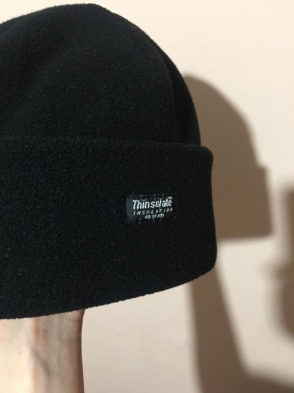 Флисовая двухслойная шапка thinsulate | insulation 40 gram - Фото 8