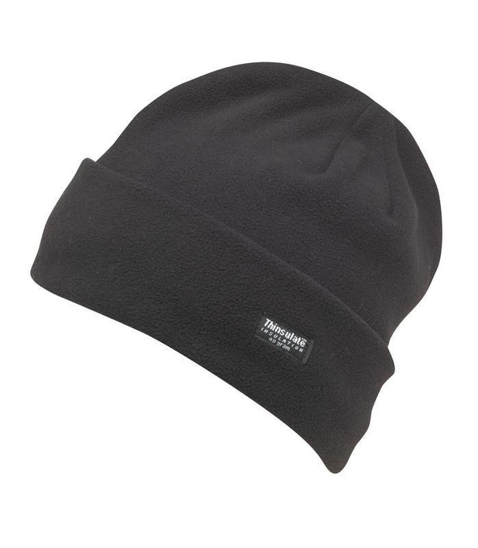 Флисовая двухслойная шапка thinsulate | insulation 40 gram - Фото 10