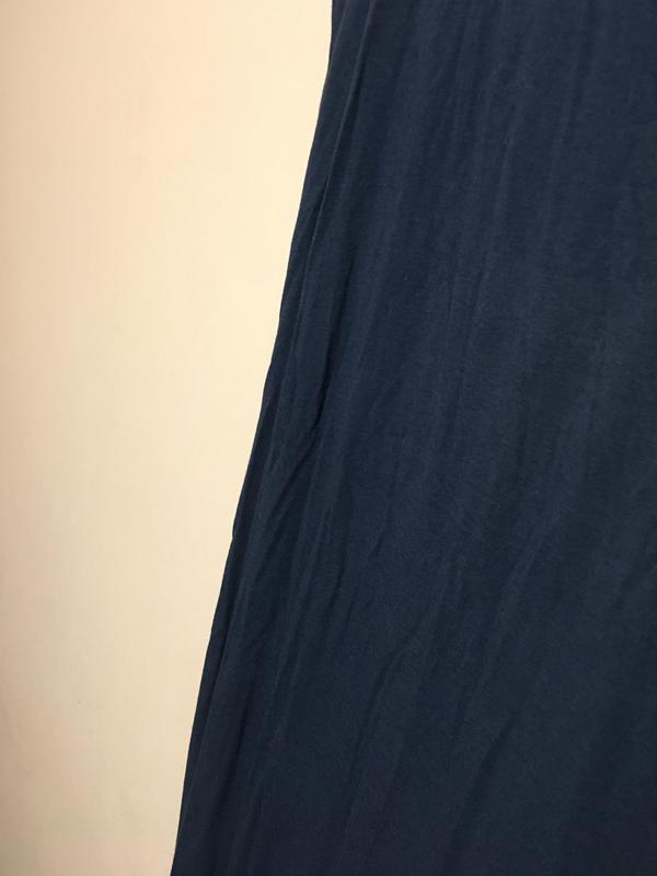 Макси платье h&m синего цвета - Фото 4