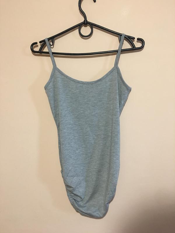 Боди boohoo basic spaghetti strap bodysuit - Фото 3
