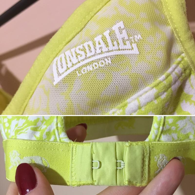 Спортивный бра lonsdale с сеточкой 32в 70в - Фото 7