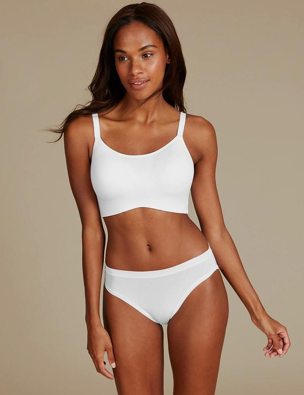 Бюст marks & spencer 36dd 80e flexifit™ cotton rich full cup c... - Фото 5
