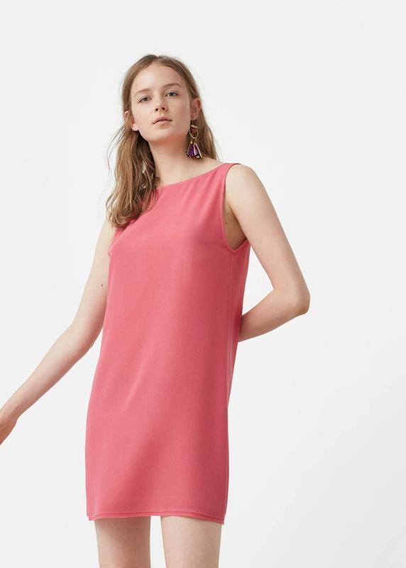 Платье mango open back dress