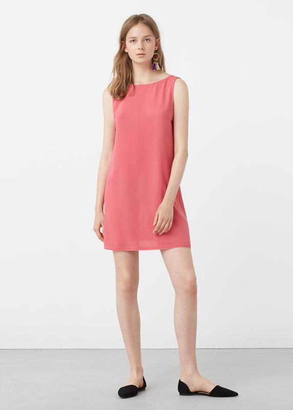 Платье mango open back dress - Фото 2
