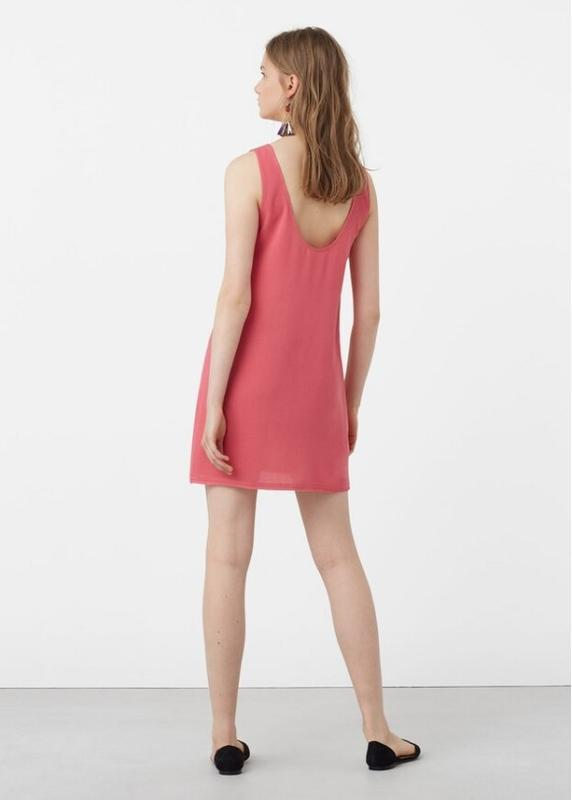 Платье mango open back dress - Фото 5