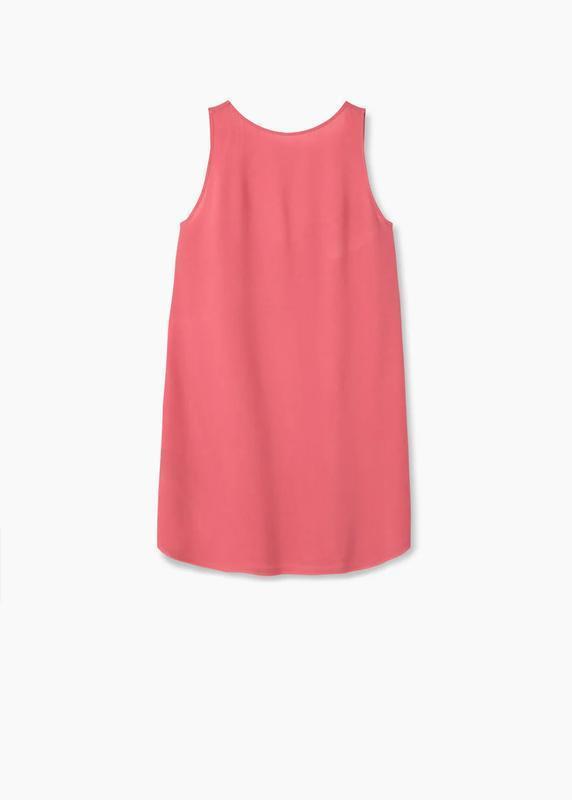 Платье mango open back dress - Фото 7