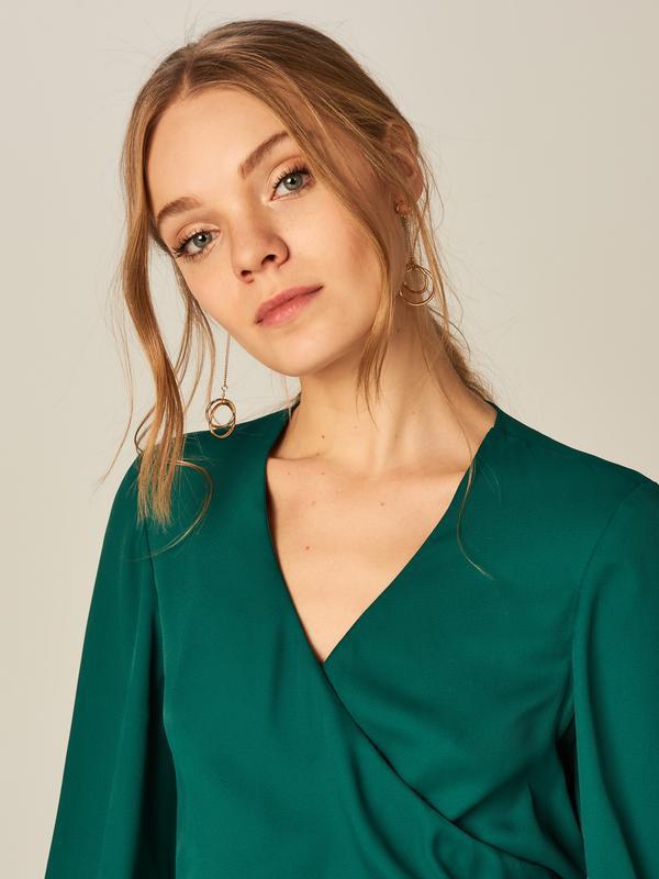 Блузка mohito 34 размер (xs, s) - Фото 3