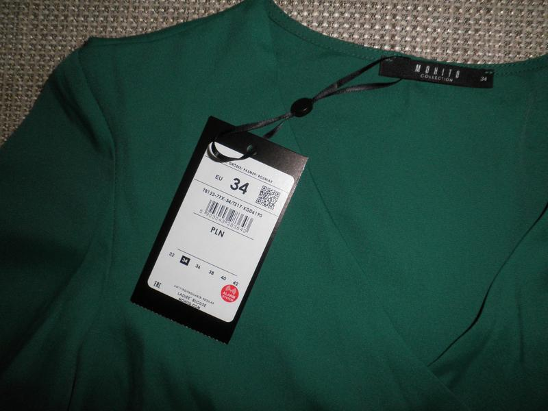 Блузка mohito 34 размер (xs, s) - Фото 5