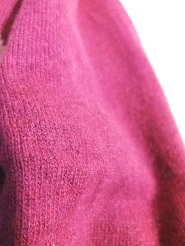 Мягкий джемпер цвета фуксии с кашемиром,50-54разм.,moutoveni c... - Фото 9
