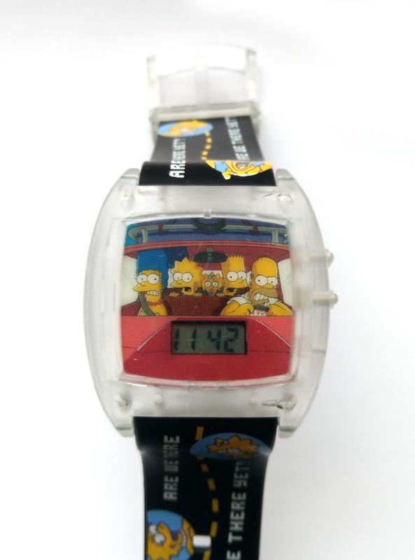 Simpsons говорящие часы из сша - are we there yet? - no