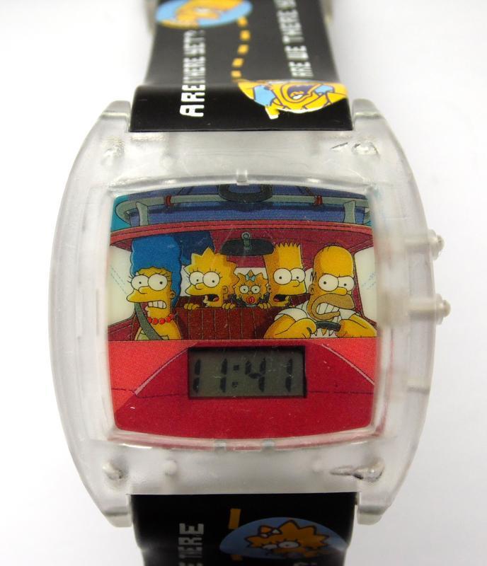 Simpsons говорящие часы из сша - are we there yet? - no - Фото 4