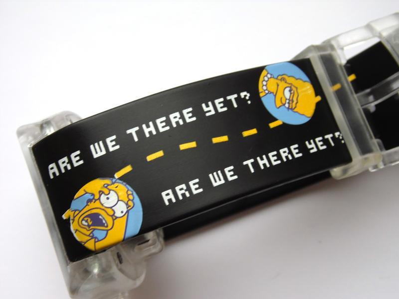 Simpsons говорящие часы из сша - are we there yet? - no - Фото 8