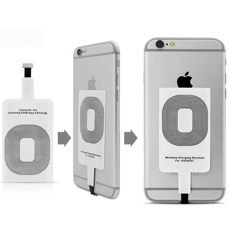Адаптер для беспроводной зарядки. Type-A. micro USB. Android - Фото 3
