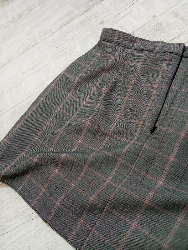 Стильная/актуальная женская  юбка в клетку primark - Фото 4