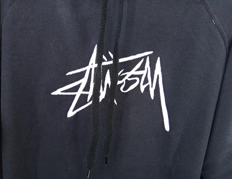 Худи Stussy Solid черный - Фото 2