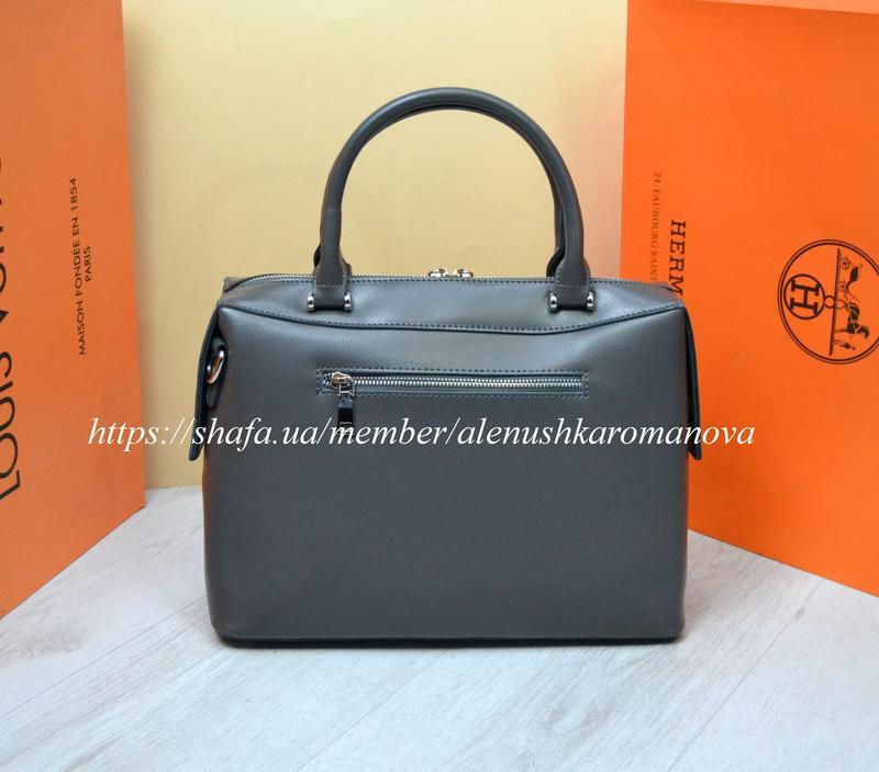 Женская кожаная сумка в стиле furla фурла - Фото 4