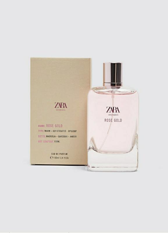 Zara woman rose gold духи парфюмерия туалетная вода