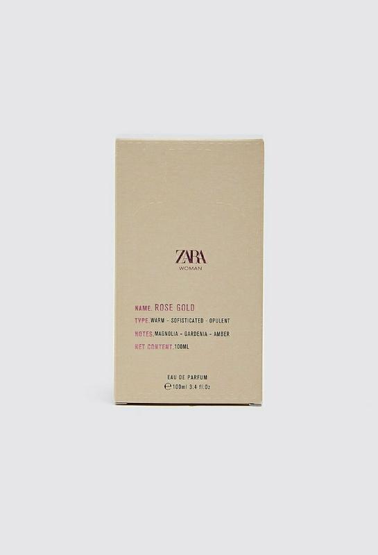 Zara woman rose gold духи парфюмерия туалетная вода - Фото 3