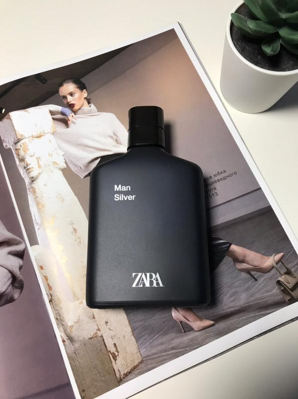 Zara man silver духи парфюмерия туалетная вода