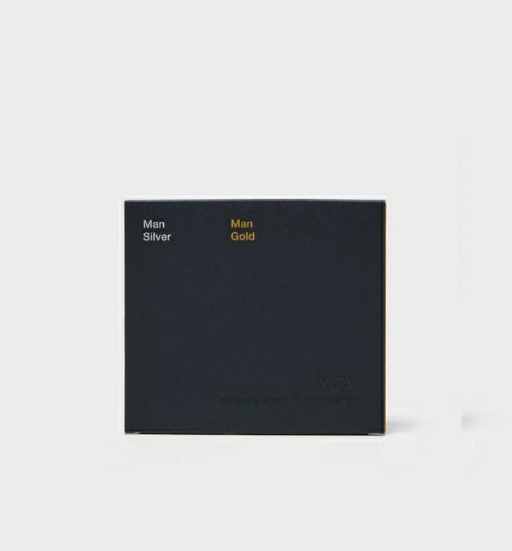 Zara gold  silver духи парфюмерия туалетная вода - Фото 3