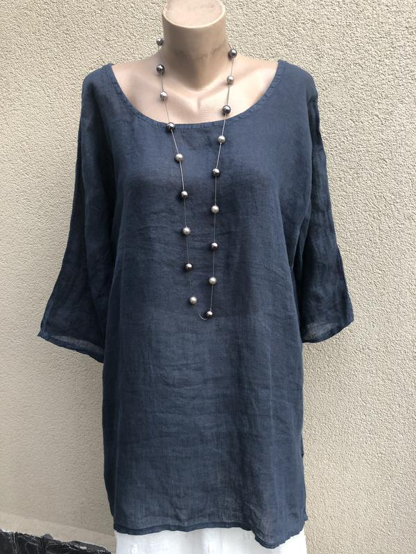 Блуза реглан,рубаха лён,туника,платье,этно бохо стиль,