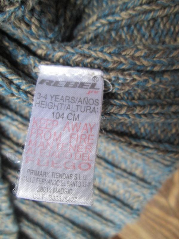 Гольф свитер джемпер primark на 3-4 года 104 см / цвет меланж,... - Фото 5