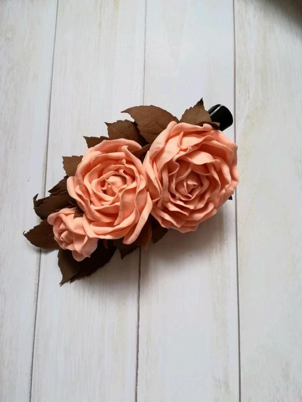 Ручна робота, троянди. - Фото 2